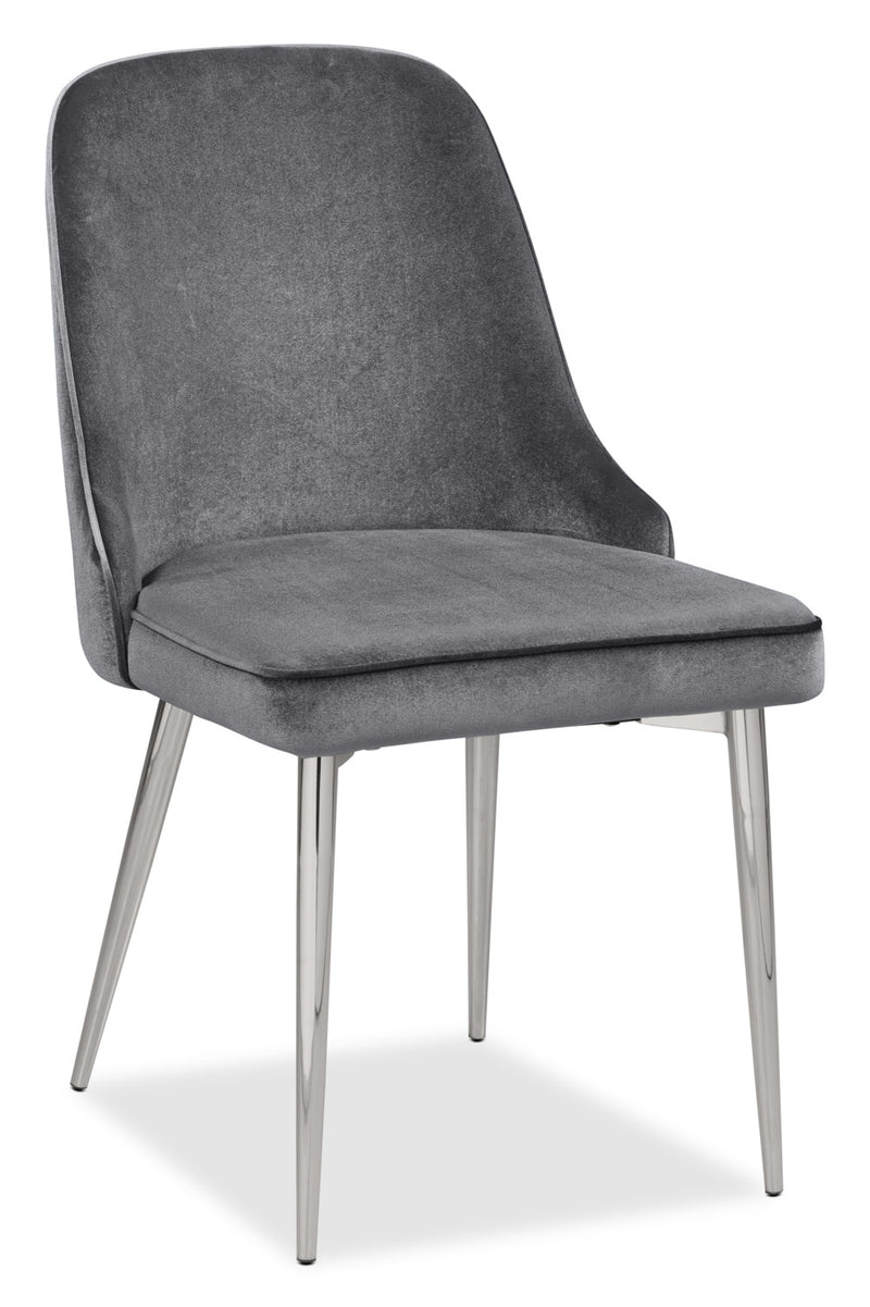Manhattan Dining Chair – Grey|Chaise de salle à manger Manhattan - grise