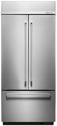 KitchenAid 20.8 Cu. Ft. Built-In French Door Refrigerator - Stainless Steel