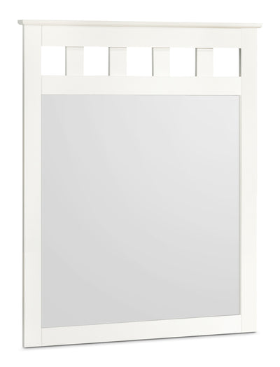 Lulu Mirror - Country style Mirror in White