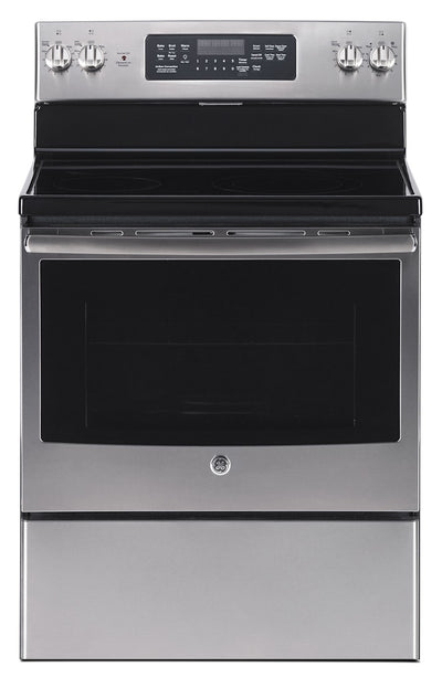GE 5.0 Cu. Ft. Freestanding Electric Range – JCB830SKSS - Electric Range in Stainless Steel