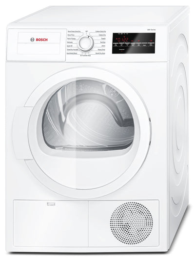 Bosch 4.0 Cu. Ft. Compact Condensation Dryer - White - Dryer in White