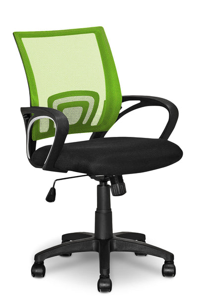 Loft Mesh Office Chair – Light Green|Chaise de bureau Loft en mailles - vert pâle|LOFGNCHR