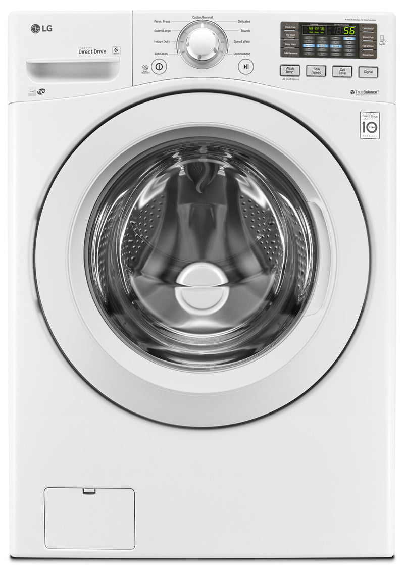 LG 7.4 Cu. Ft. Ultra-Large Capacity Electric Dryer – DLE3180W - Dryer in White