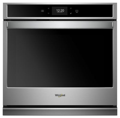 Whirlpool 5.0 Cu. Ft. Smart Single Wall Oven with True Convection - WOS72EC0HS|Four mural simple intelligent Whirlpool 5,0 pi3 avec convection véritable - WOS72EC0HS|WOS720HS