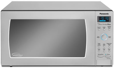 Panasonic Genius® Prestige® 1.6 Cu. Ft. Countertop Microwave – NN-SE796S - Countertop Microwave in Stainless Steel