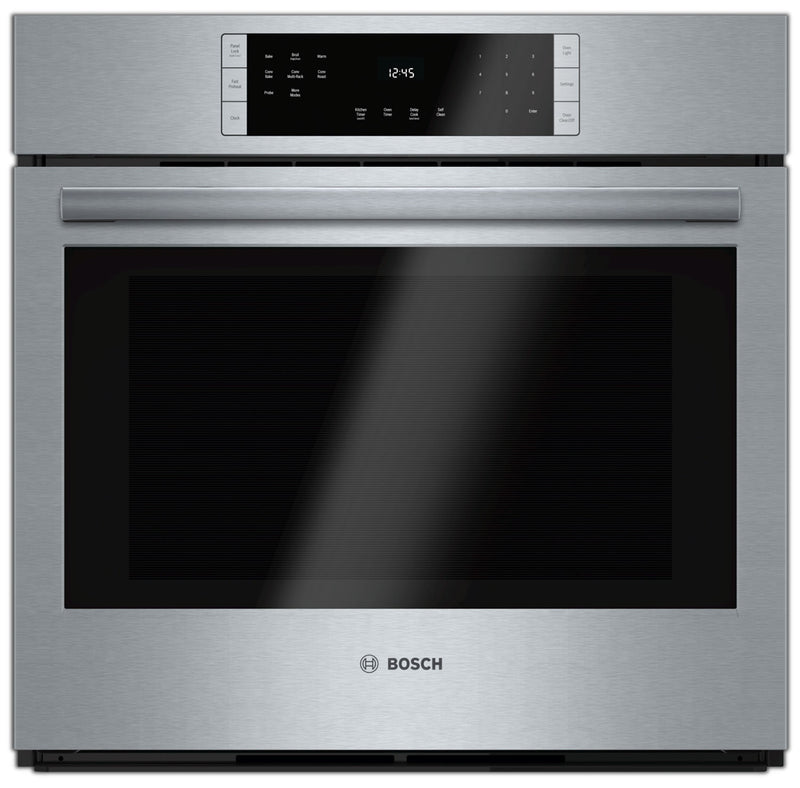 "Bosch 30"" Convection Single Wall Oven - Stainless Steel