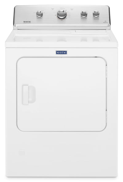 Maytag 7.0 Cu. Ft. Electric Dryer with Wrinkle Control – YMEDC465HW - Dryer with Reversible Door in White