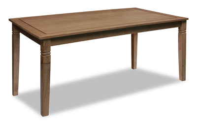 Aran Dining Table – Light Mango|Table de salle à manger Aran - manguier clair|ARANODTL