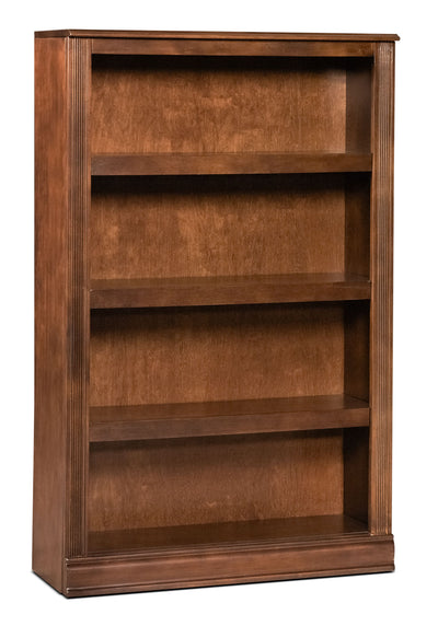 Hamlyn Medium Bookcase - Contemporary style Bookcase in Light Brown