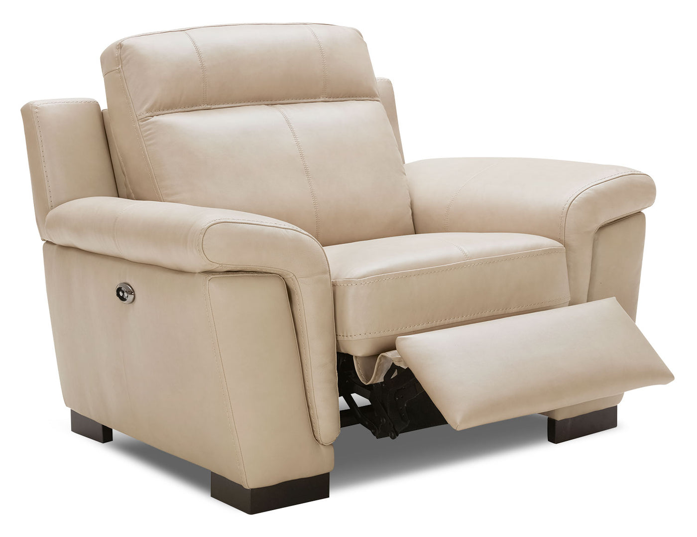 Seth Genuine Leather Power Reclining Chair Rope