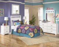 Lulu 4-Piece Full Panel Headboard Package