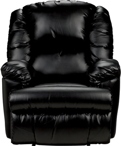 Bmaxx Bonded Leather Power Reclining Chair – Black - Contemporary style Chair in Black
