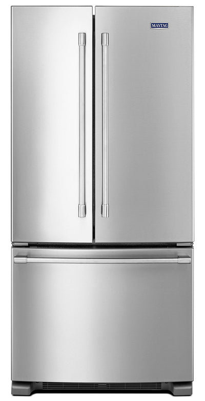 Maytag 22 Cu. Ft. French-Door Refrigerator – MFF2258FEZ - Refrigerator in Stainless Steel