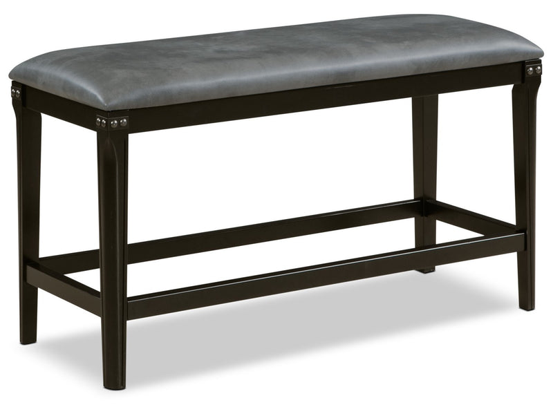 Ironworks Counter-Height Dining Bench|Banc de salle à manger Ironworks de hauteur comptoir