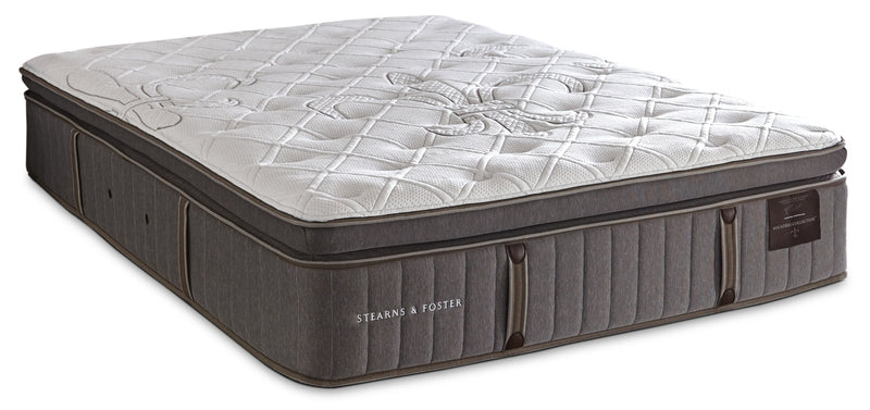 Stearns & Foster Eastminster Pillow-Top Twin XL Mattress|Matelas à plateau-coussin Eastminster de Stearns & Foster pour lit simple très long
