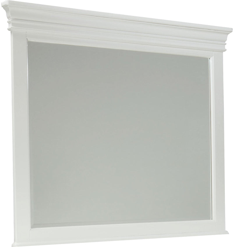 Bridgeport Mirror – White|Miroir Bridgeport - blanc