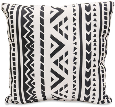 Black and White Accent Pillow|Coussin décoratif noir et blanc|BLCKWHPP
