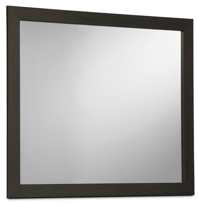 Harlinton Mirror - Rustic style Mirror in Two-Toned