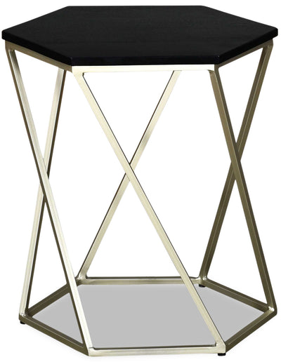 Bowen Accent Table - Black|Table d'appoint Bowen - noire|BOWBLCST