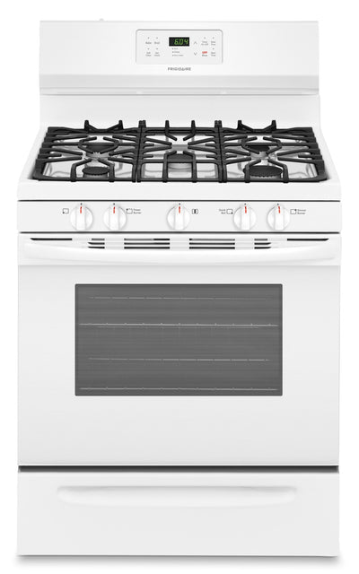 Frigidaire 5.0 Cu. Ft. Gas Range – FFGF3054TW - Gas Range in White