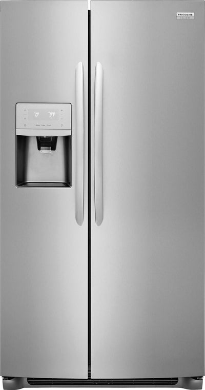 Frigidaire Gallery 22.2 Cu. Ft. Side-by-Side Refrigerator – FGSS2335TF - Refrigerator in Stainless Steel