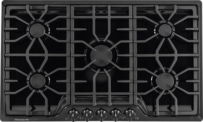 "Frigidaire Gallery 36"" Gas Cooktop – Black - Gas Cooktop in Black"