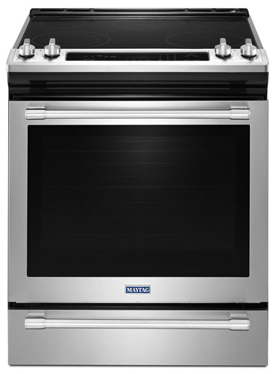 Maytag 6.4 Cu. Ft. Slide-In Electric Range – YMES8800FZ - Electric Range in Stainless Steel