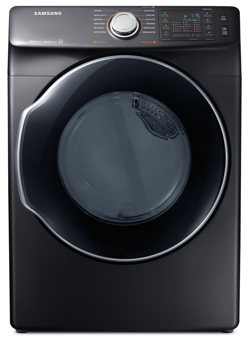 Samsung 7.4 Cu. Ft. Dryer with Steam Sanitize – DVE45N6300V/AC|Sécheuse Samsung avec désinfection à la vapeur de 7,4 pi3 – DVE45N6300V/AC