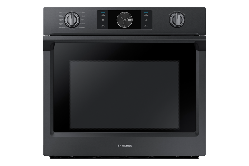 Samsung 5.1 Cu. Ft. Convection Wall Oven with Steam Bake - NV51K7770SG/AA|Four mural Samsung de 5,1 pi3 à convection avec cuisson à la vapeur - NV51K7770SG/AA|NV51K77G