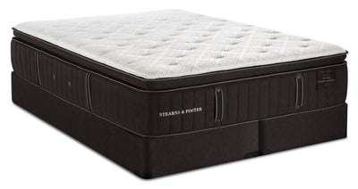 Stearns & Foster Founders Collection Cambridge Bay Pillowtop Split Queen Mattress Set|Ensemble matelas à plateau-coussin divisé Cambridge Bay de Stearns & Foster pour grand lit|CAMBRSQP