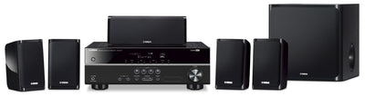 Yamaha Home Theatre Package - Yamaha YHT-1840 5.1-Channel Home Theatre System