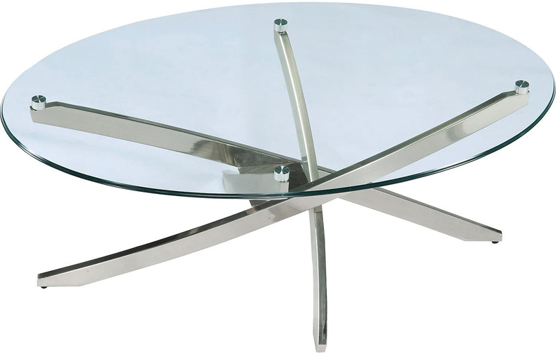 Zila Coffee Table - Modern style Coffee Table Glass and Metal