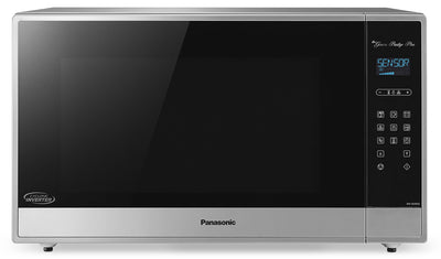 Panasonic 2.2 Cu. Ft. Countertop Microwave – NNSE995S - Countertop Microwave in Stainless Steel