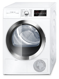 Bosch 4.0 Cu. Ft. 800 Series Compact Condensation Dryer – White