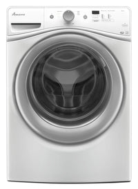 Amana 4.8 Cu. Ft. Front-Load Washer - White|Laveuse Amana de 4,8 pi3 à chargement frontal - blanche