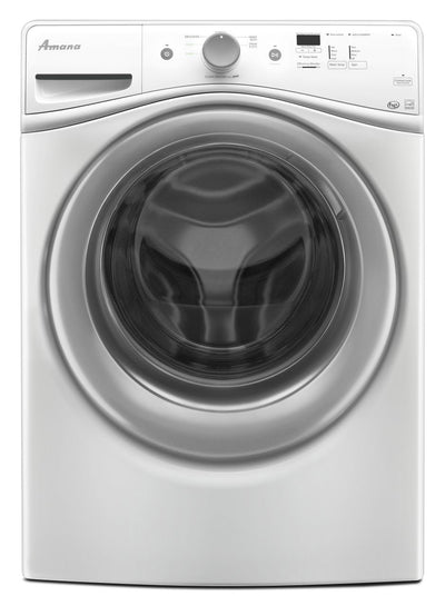 Amana 4.8 Cu. Ft. Front-Load Washer - White|Laveuse Amana de 4,8 pi3 à chargement frontal - blanche|NFW5800W