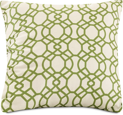 Trellis Accent Pillow – Green|Coussin décoratif treillis - vert|792890DP