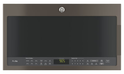 GE 2.1 Cu. Ft. Over-the-Range Microwave – PVM2188SLJC - Over-the-Range Microwave in Slate