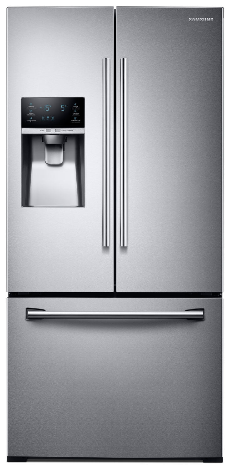 Samsung 255 Cu Ft French Door Refrigerator Stainless Steel