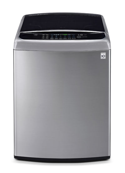 LG 5.8 Cu. Ft. Top-Load Washer - Graphite Steel - Washer in Grey