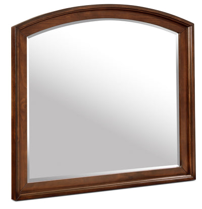 Chelsea Mirror - Traditional style Mirror in Cherry Pine Solids and Cherry Veneers