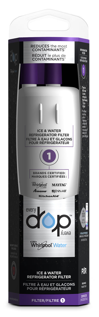 Whirlpool Everydrop™ Ice and Water Refrigerator Filter 1
