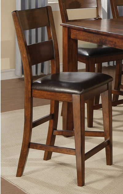 Dakota Light Pub-Height Dining Chair - Contemporary style Dining Chair in Light Cherry