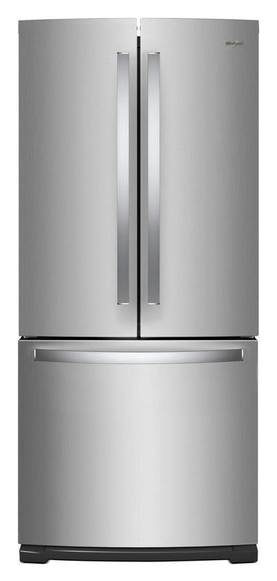 Whirlpool® 20 Cu. Ft. French-Door Refrigerator with Icemaker– WRF560SMHZ - Refrigerator in Stainless Steel