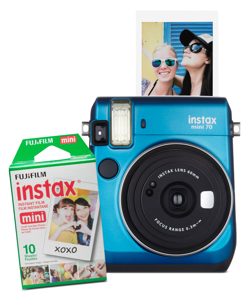 Fujifilm instax® mini 70 Camera – Island Blue|Appareil photo Fujifilm Instax mini - bleu|MINI70IB