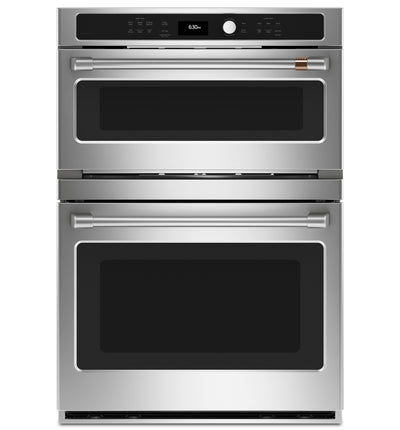Café 6.7 Cu. Ft. Combination Double Wall Oven - CTC912P2NS1 | Four mural double combiné Café de 6,7 pi3 - CTC912P2NS1 | CTC912P2