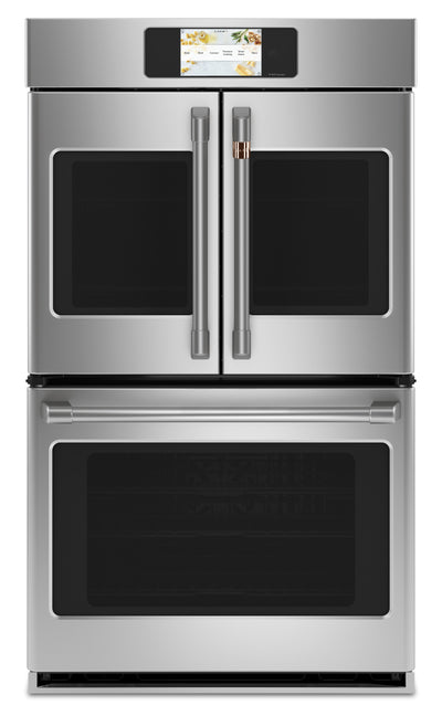 "Café Professional Series 30"" Smart Built-In French-Door Double Wall Oven - CTD90FP2NS1 