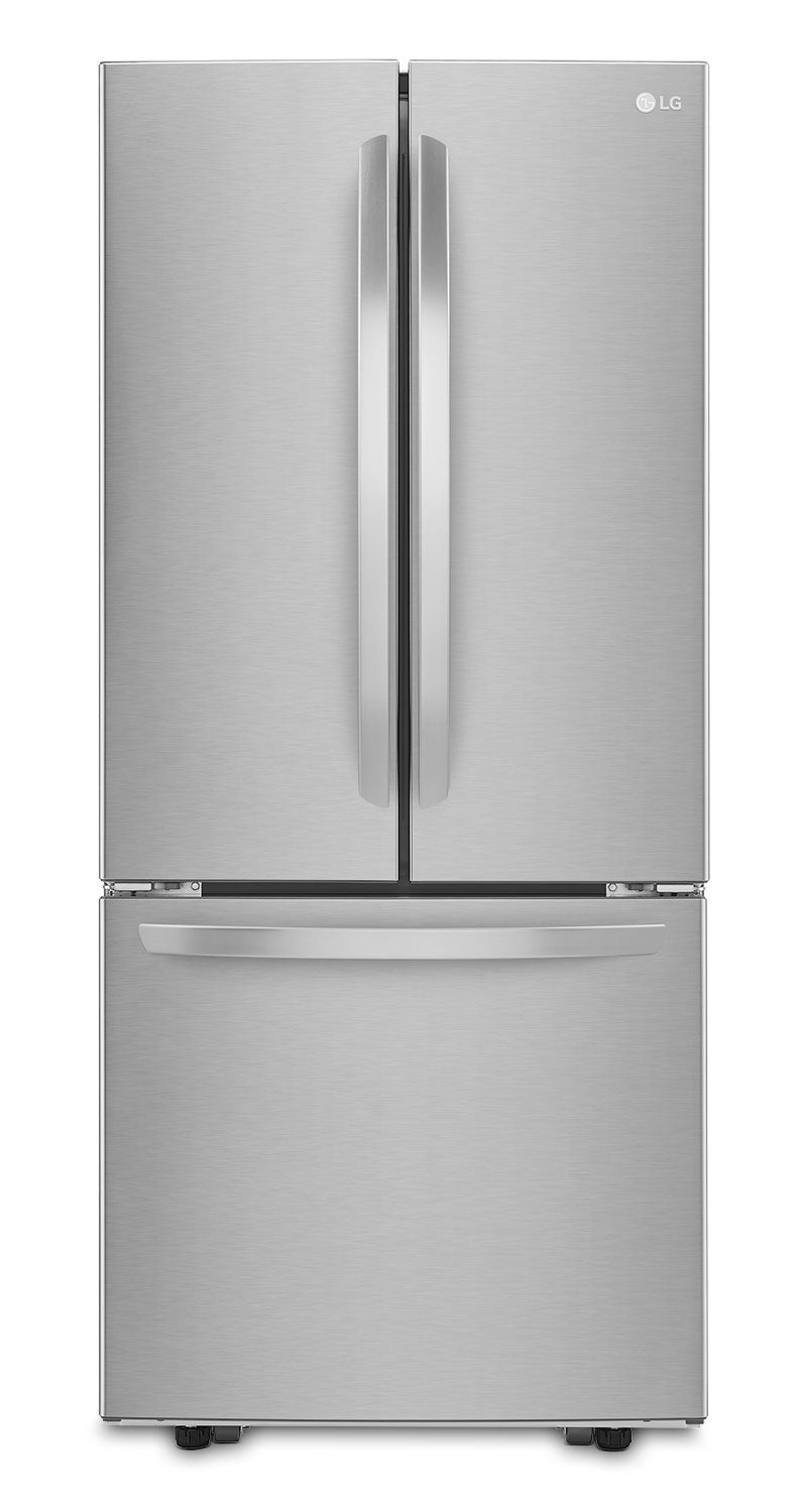 Lg 218 Cu Ft French Door Bottom Mount Refrigerator Stainless S