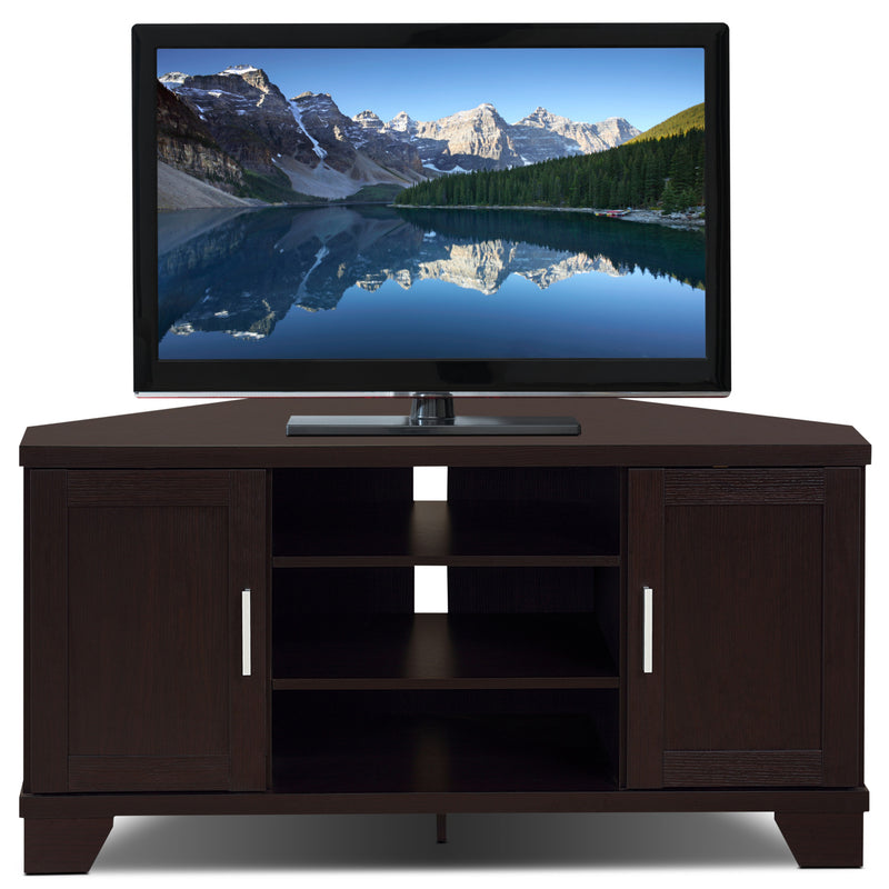 Bailey 47 Quot Corner Tv Stand The Brick