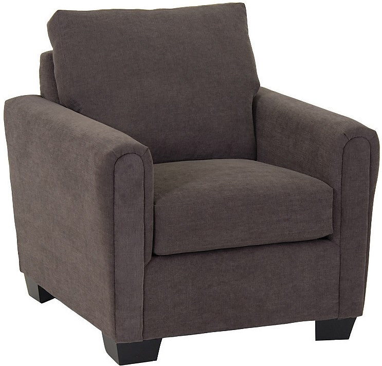 Spa Collection Chenille Chair – Charcoal|Fauteuil de la collection Spa en chenille - anthracite|SPAF-C